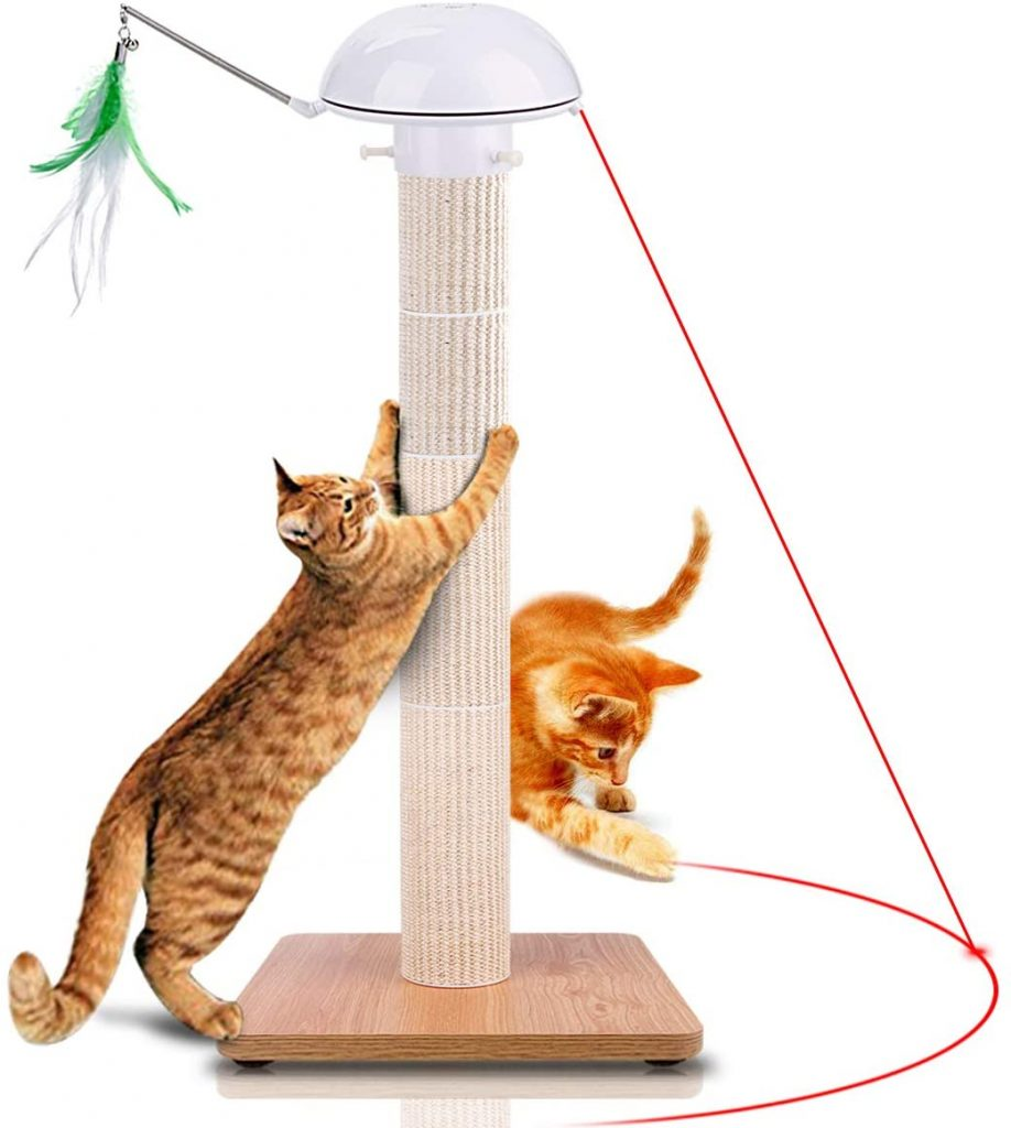 toys for cats to play with alone
