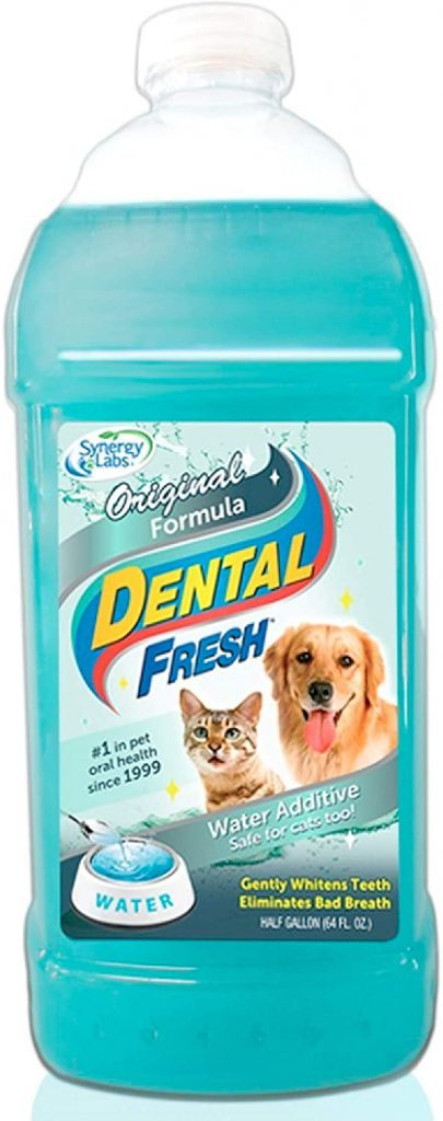 dental water additives for cats